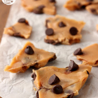 Easy Malted Chocolate Chip Toffee.