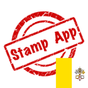 Stamps Vatican, Philately icon