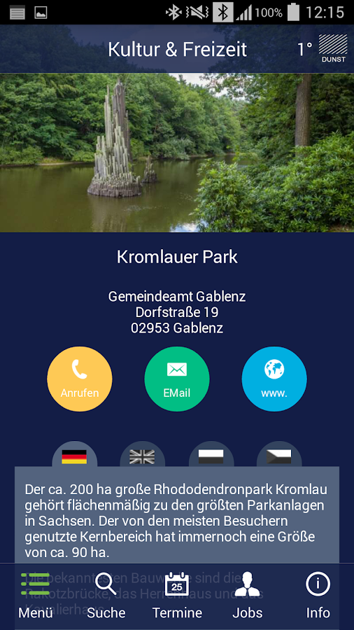 Region Weißwasser – Screenshot