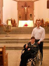 Photo: 21 VI 2015 roku -  z Tomkiem Jarkiem w kościele u Dominikanów