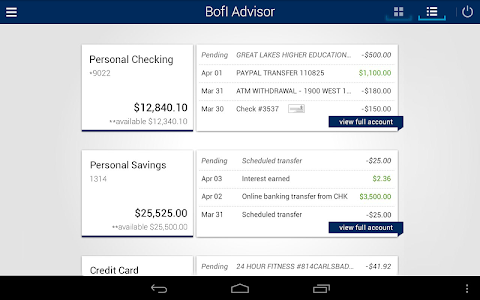 BofI Advisor Mobile App screenshot 10