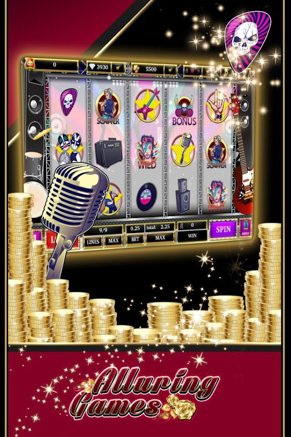 free rock and roll slots