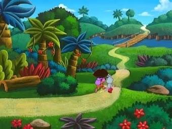 Dora rettet das Spiel