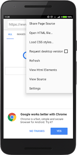 HTML Source Code Viewer  screenshots 5