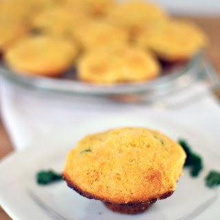 Jalapeno Cheddar Cornbread Mini Muffins