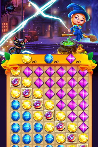 Witch Jewel Puzzle 1.0 screenshots 2