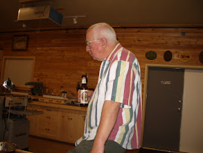 Photo: Neighbor Russ Fairfield - quite accomplished woodworker and extremely talented woodutrner.