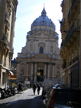 Photo: Paris seems endlessly full of new discoveries, even after 15 or so visits, as here I pass by for the first time the Church of the Val-de-Grâce. The church was founded by Anne of Austria, Queen Consort of Louis XIII and mother of Louis XIV. Construction began in 1634, and was completed in 1667, including the successive participation of François Mansart, Jacques Lemercier, Pierre Le Muet and Gabriel Leduc.