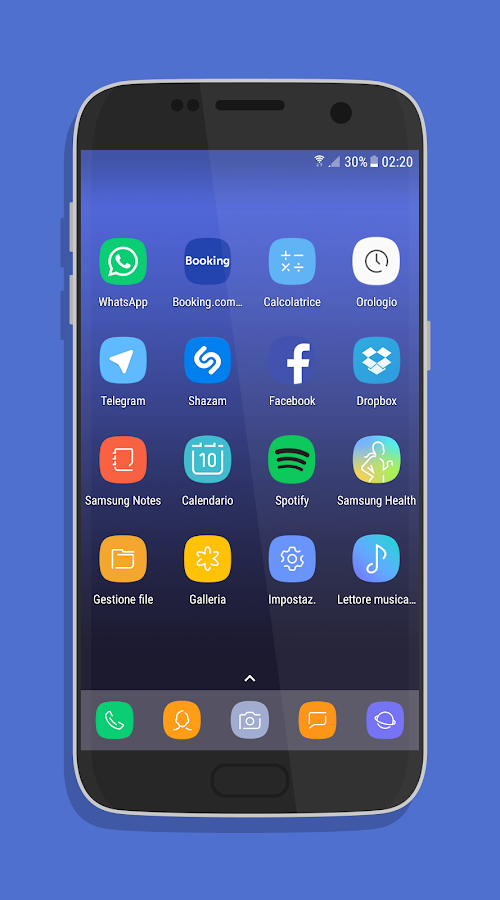 UX Experience S8 - Icon Pack: captura de pantalla