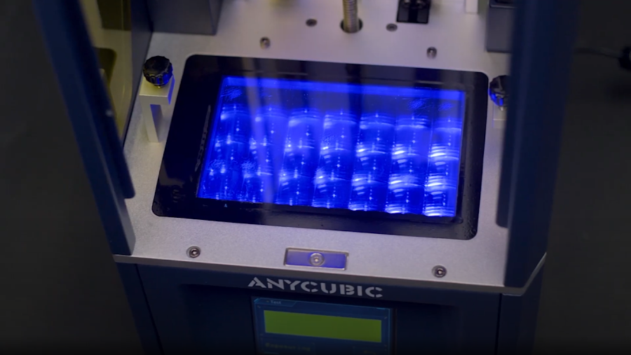Powerful LED arrays power each of the Anycubic machines.