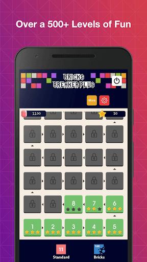 Bricks Breaker Plus 1.7 screenshots 1