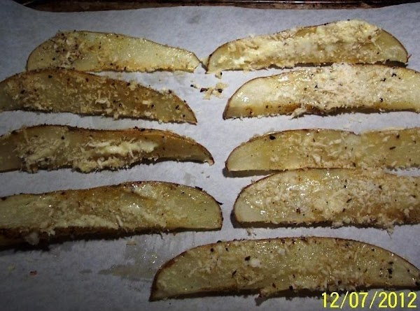 Remove pan and brush mayonaise on warm potatoes, and roll in Panko crumbs.Place back...
