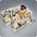 House Plan Ideas 3D icon
