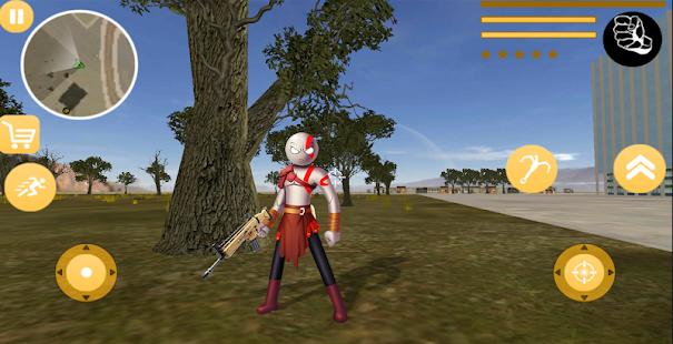 Download God Stickman Rope Hero Of War Gangstar Crime Mafia For PC Windows and Mac apk screenshot 4
