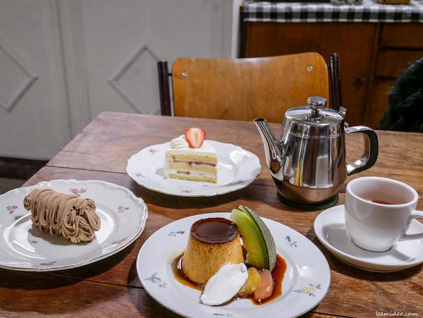 台北行天宮站咖啡下午茶 彼儂甜點Binôme Dessert  讓人喜歡的老派安全感