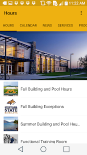 Montana State University Rec- screenshot thumbnail