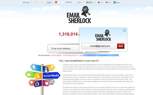 EmailSherlock