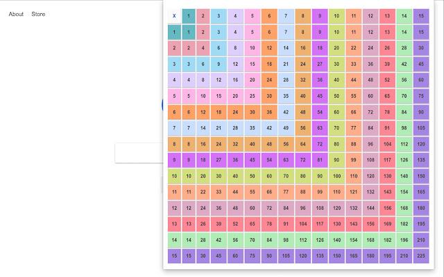 Multiplication Matrix Launcher