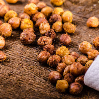 Curried Roasted Chickpeas