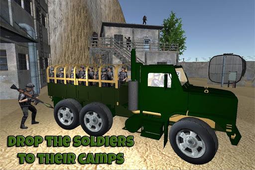 軍 檢查 帖子 卡車 模擬器