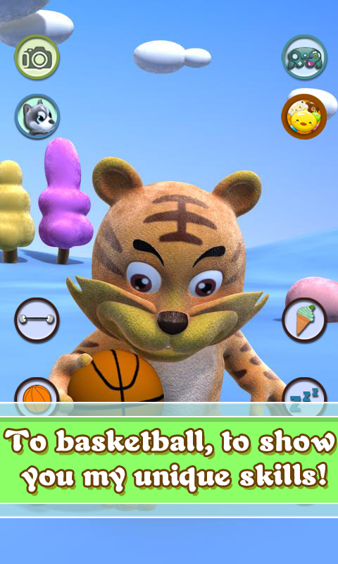 Talking Tiger- screenshot