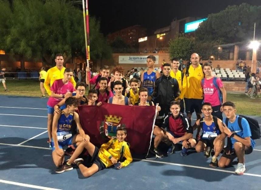 Campeonato de España de Atletismo por Clubes Sub-16 en Valencia