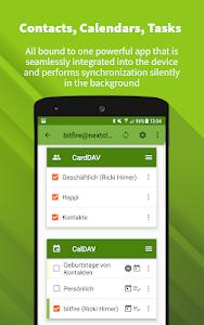 DAVx⁵ (DAVdroid) – CalDAV/CardDAV Synchronization 2.2.2-gplay (Paid)