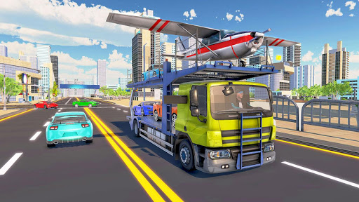 Car Transporter Truck Driver:Cargo Plane Simulator 1.0 screenshots 2