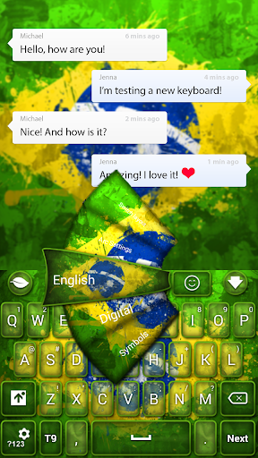 ブラジルGOキーボード