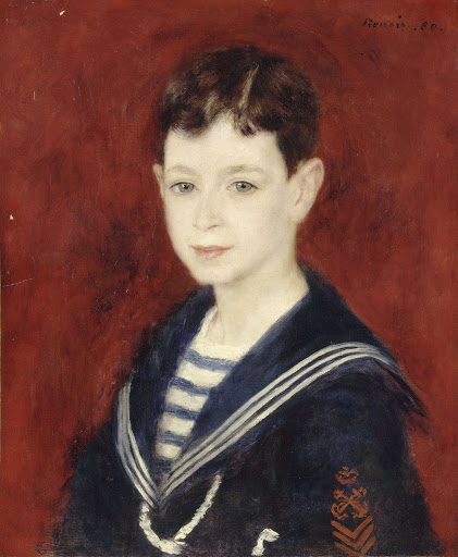 Fernand Halphen as a Boy