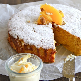 Healthy Orange and Almond Cake Recipe