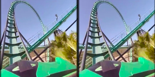 VR Thrills: Roller Coaster 360 (Google Cardboard) APK screenshot thumbnail 5
