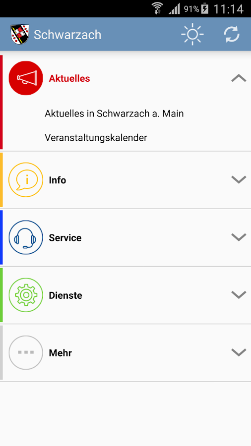 Schwarzach a. Main – Screenshot