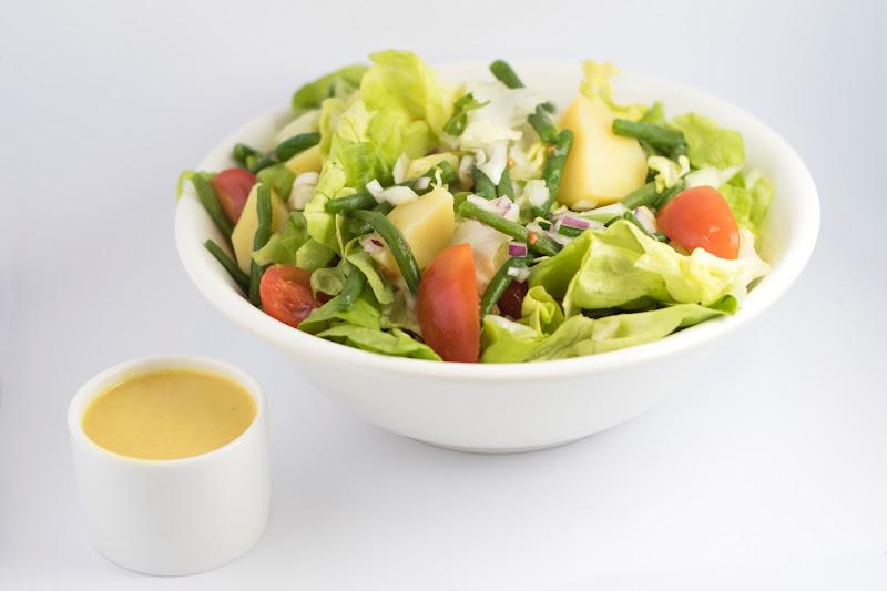 Vegetarische salade aardappel