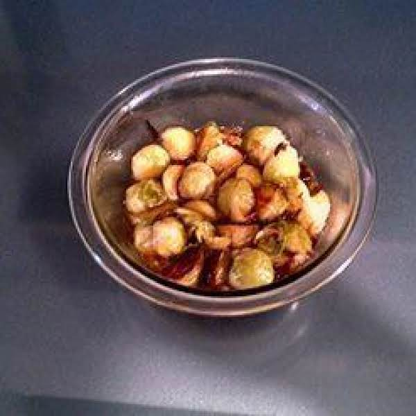 Roasted Brussel Sprouts W Caramelized Fish Sauce