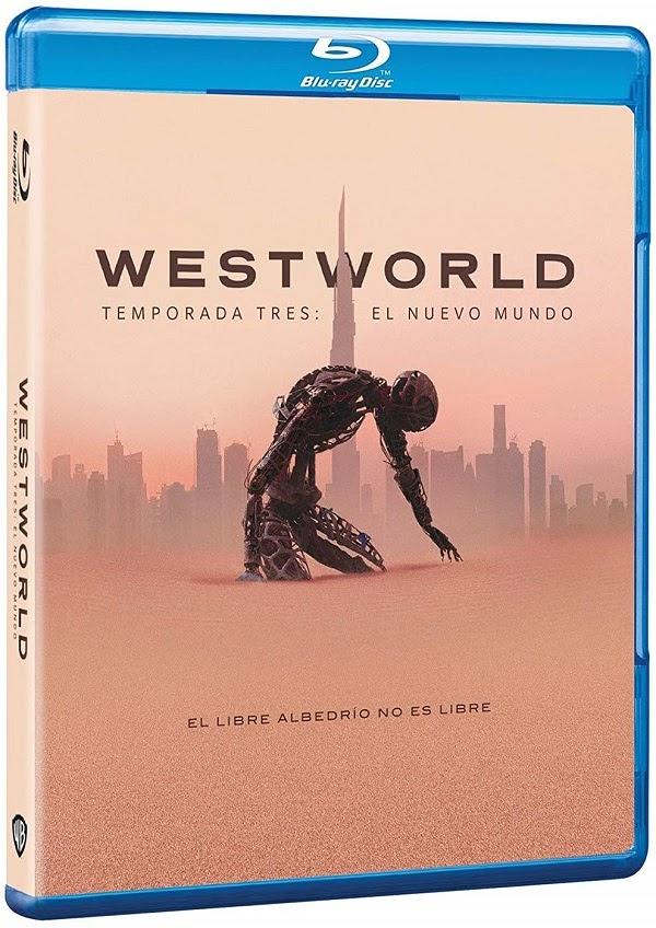 tercera temporada de Westworld en Blu-ray y DVD