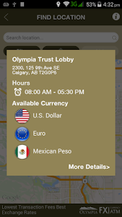 Olympia FX ATM Locator- screenshot thumbnail