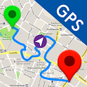 GPS, Maps, Live Navigation & Traffic Alerts icon