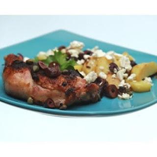 Zesty Roasted Chicken With Mediterranean Potatoes