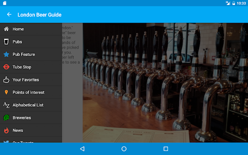 Beer Guide London- screenshot thumbnail