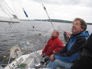 Photo: Tuulivahdit Blueshipin voitokkaassa JVS:n syysmatkapurjehduksessa v. 2010.