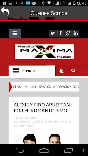 Radio Maxima Music