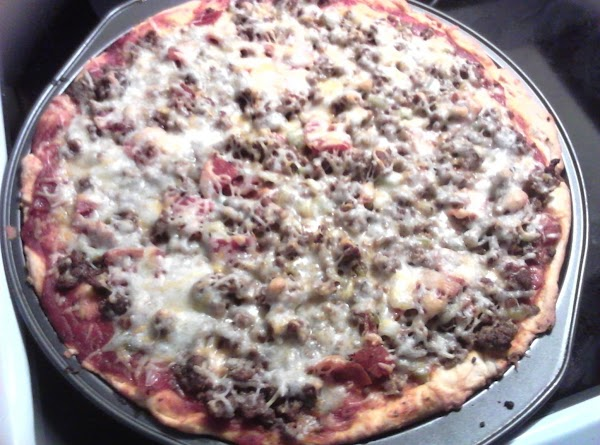 Beef Pizza Recipe