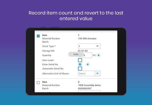 mInventory - Mobile Inventory & WM Solution 7.4.0 build 486 screenshots 20