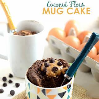Coconut Flour Mug Cake.