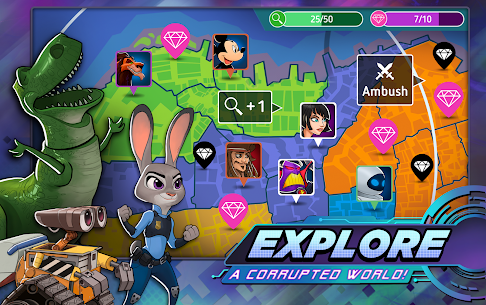 Disney Heroes Battle Mode Mod Apk 2.5 (Unlimited Freeze) 5