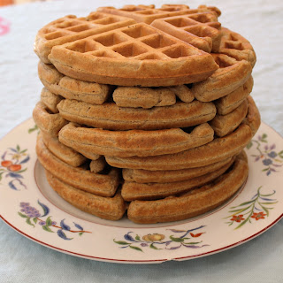 Super Easy 4 Ingredient Waffles