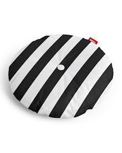 Fatboy® circle pillow stripe anthracite