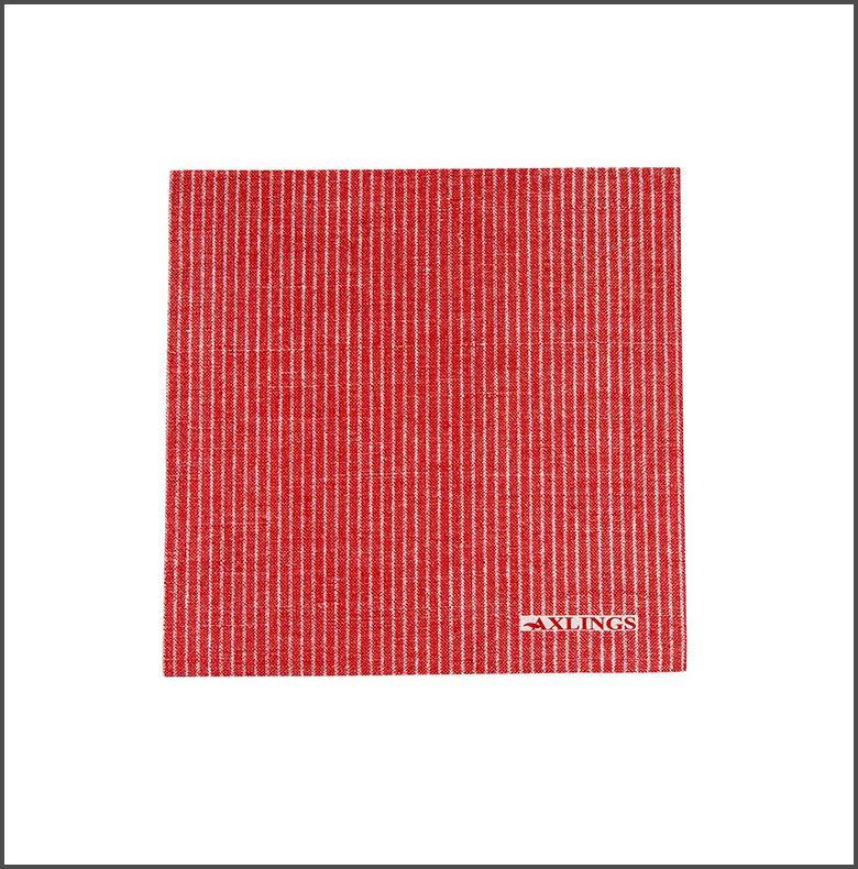 Pappservett Kritstreck Röd