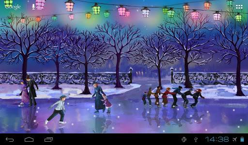 Christmas Rink Live Wallpaper screenshot 12